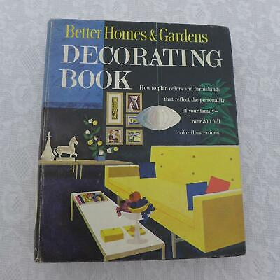 Mid Century Modern Design MCM 50s 60s Decorating Book Vtg Better Homes Gardens