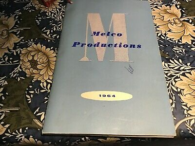 Melco Productions Tool Catalogue 1964