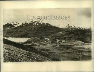 1942 Press Photo Japanese Air Attack Target Dutch Harbor on Islands of Alaska