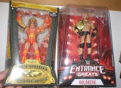Wwe Entrance Greats Goldberg And Defining Moments Ultimate Warrior, Unopen