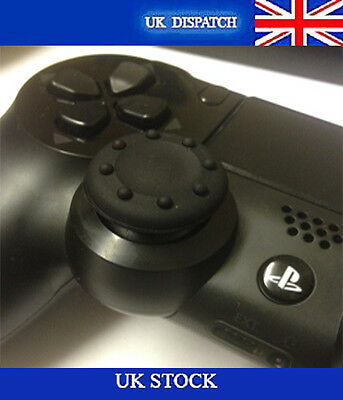 8X Black Rubber Thumb Stick Grip Cover Caps Fits Sony PS4 XBOX Analog Controller