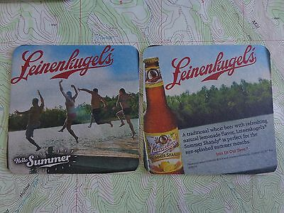 16 Leinenkugel/'s Summer Shandy Join Us Out Here  Beer Coasters