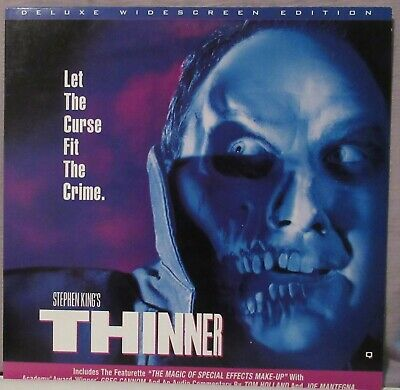 Stephen King's Thinner Laserdisc Deluxe Widescreen Edition Joe Mantegna