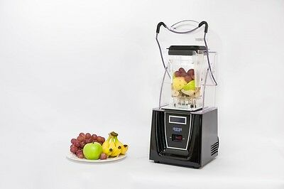 Enpee Quiet Commercial Blender inc Sound Reducing Cover And Additional Jug