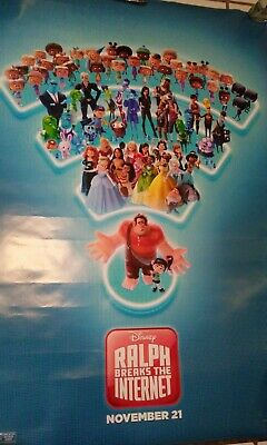 Ralph Breaks the Internet 27x40 Original Theater Double Sided Movie Poster