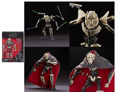 star wars black series general grievous SHIPS IN TRIMMED TRAY