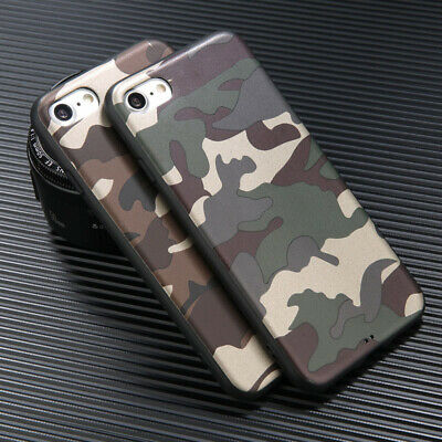 Camouflage Shell Phone Cover Camo Soft Case For Samsung Galaxy Note 8 S9 S8 Plus
