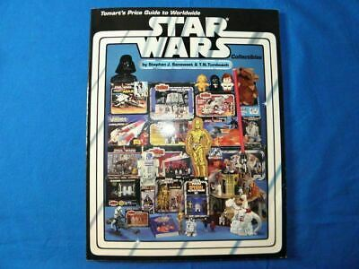 Tomarts Star Wars Price Guide Signed by Authors Sunsweet & Tumbusch Rare 1st Ed.