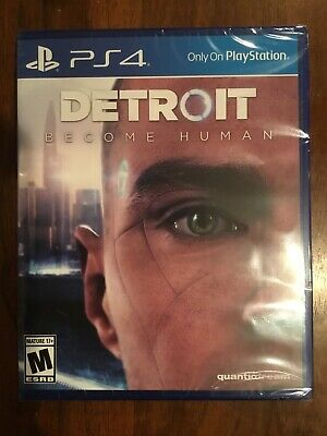Detroit Become Human (PS4) BRAND NEW! FACTORY SEALED!!
