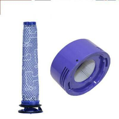 Pre+Post Motor HEPA Filter For Dyson V7/V8 Absolute Total Clean Cordless Vacuum