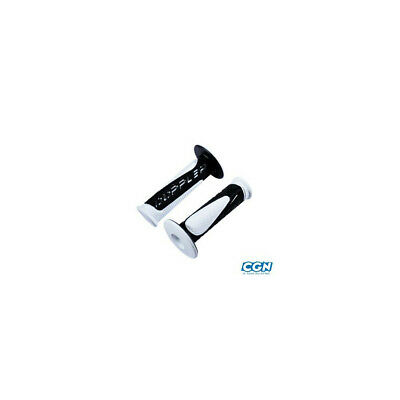 Revetement/poignee doppler grip radical blanc/noir (pr)