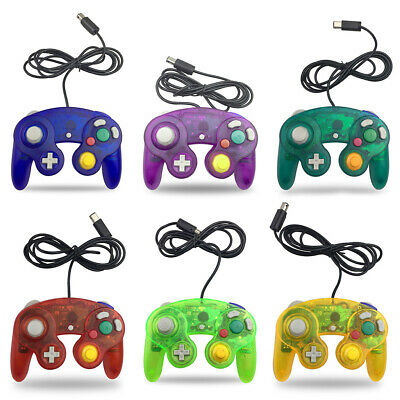Wired Controller for Nintendo Gamecube Wii GC single point game vibration handle