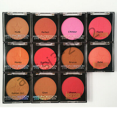 MAKEUP OBSESSION Blusher by Makeup Revolution New Sealed 2g Cruelty Free