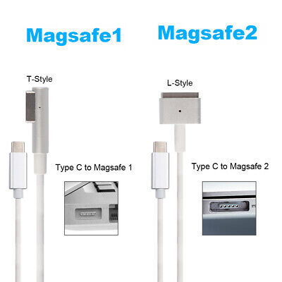 USB C Type C to Magsafe1/2 Cable Adapter For Apple MacBook Air/Pro 45W 60W 85W