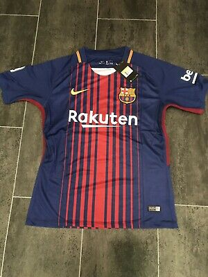 Mens Nike Barcelona Home Shirt Messi 10 BNWT Size XL