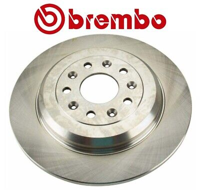 Pair Set of 2 Rear Vented Disc Brake Rotors 330mm Brembo for A4 A6 Q5 S4 Macan