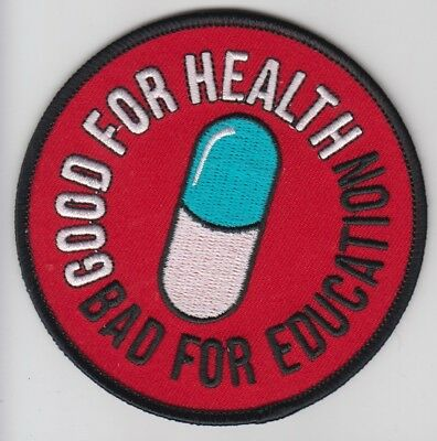 Parche Akira Good For Health Bad For Education  9Cms Termoadhesivo    Patch