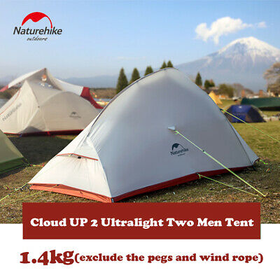 Naturehike Ultralight Backpacking Tent 20D Silicone Coated Camping Tent-2 Person