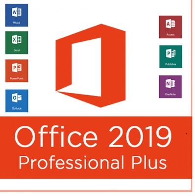 Microsoft Office 2019 | Professional plus 32/64 Bit | 24h Support | Angebot