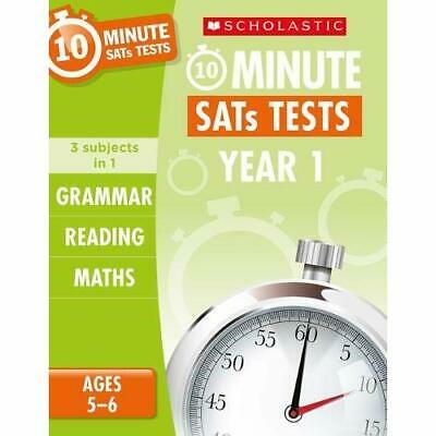 Grammar, Reading and Maths Year 1 (10 Minute SATs Tests - Paperback / softback N