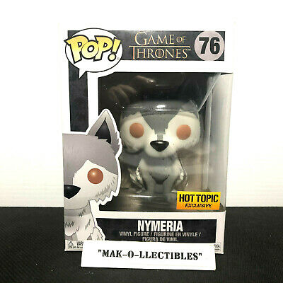 Funko Pop! Game Of Thrones Nymeria #76 Hot Topic Exclusive