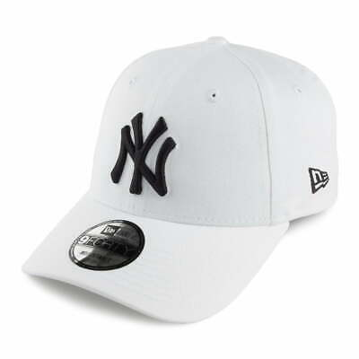 New Era 9FORTY New York Yankees Baseball Cap - MLB League Basic - White