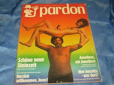 PARDON , April 1973 , Magazin - Satire / Parodie / Politik / Strips  # 12/17