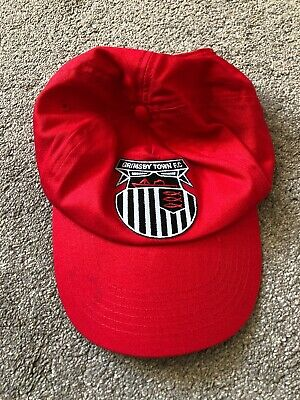 Grimsby Town Red Baseball Cap In Great Condition