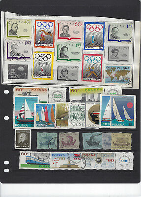 Poland-Selection-Most Used-Some Sets-Some Better-Hundreds-Lot #300