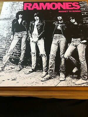 RAMONES ROCKET TO RUSSIA 40th ANNI DELUXE EDITION 3CD & 1 LP BOX SET NUMBERED