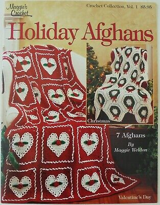 Maggie's Crochet Holiday Afghans Christmas Halloween Easter Crochet Patterns
