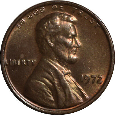 1972 Double Die Obv Lincoln Cent - Uncirculated