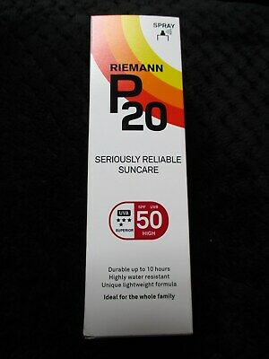 Riemann P20 Once a Day Sun Protection Spray SPF 50 Water Resistant 100ml