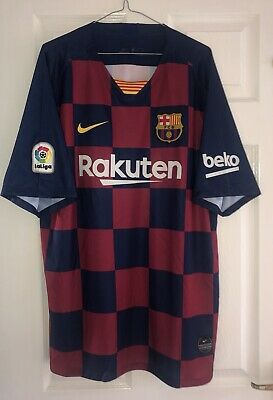 Barcelona Home Shirt Jersey 2019/20 - Men's XXXL - With Greizmann - BNWT.