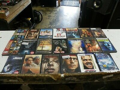 20 - Stephen King - Cult & Horror - DVD Movie Collection Set       (Lot 5344)