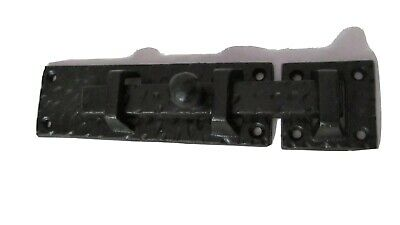 Vintage Style Cast Iron Gate Door Barn Slide Latch Bolt Lock Hardware Large