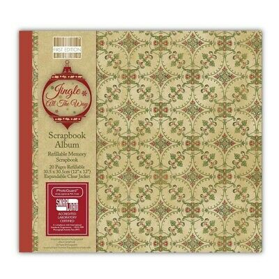 First Edition 12×12 Christmas Scrapbooking Album – Jingle All The Way RRP £20
