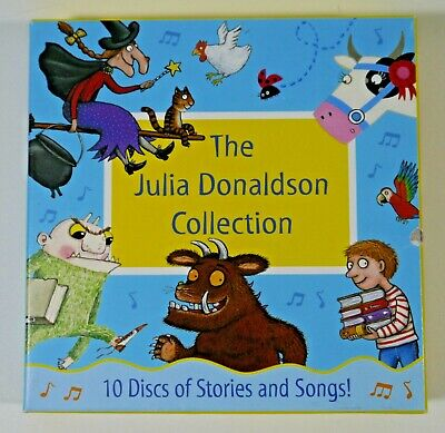 The Julia Donaldson Collection Audiobook Box Set 10 Discs Of Stories And Songs