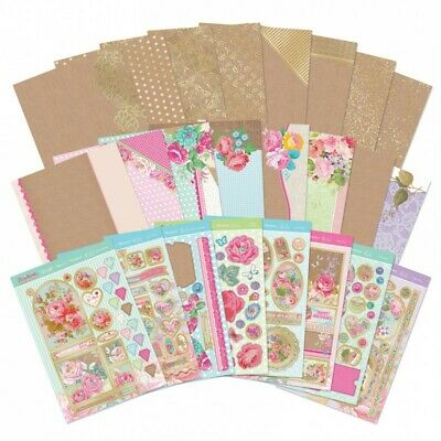 Hunkydory Florabunda Foiled Card Collection + FREE Matching LITTLE BOOK