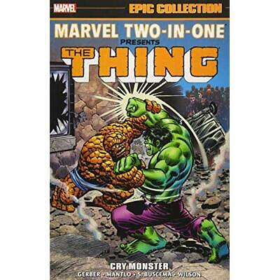 Marvel Two-In-One Epic Collection - Paperback NEW Gerber, Steve 21/08/2018