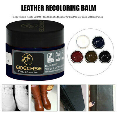 Leather Repair Cream Compound For Leather Restoration Cracks Burns Holes 5 Color