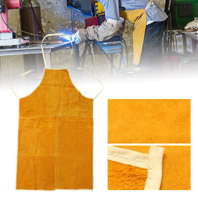 93cm*60cm Cow Leather Welders Welding Apron Heat Insulation Protect Safety Tool