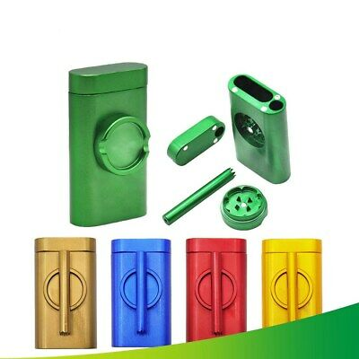 DUGOUT Grinder Combo Pinch Hitter Pipes Metal Outdoor Kit Tobacco Grinder