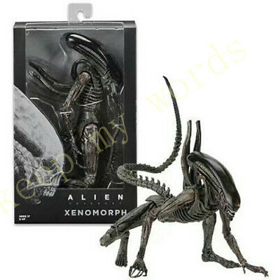 "1979 NECA Alien Covenant Xenomorph Skull 7"" Scale Action Figure Collection Doll"