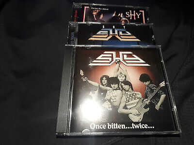 Shy - Excess All Areas / Once Bitten…Twice… / Brave The Storm 3CD-SET