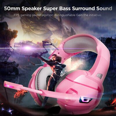 ONIKUMA K5 Gaming Headset LED Headphones With Mic Microphone For PS4 PC Game