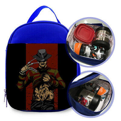 "Freddy Krueger 101 Custom Printed Lunchbox Size 7""L X 9""H X 3""W For Kids"