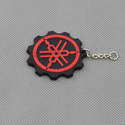 Cool Motorcycle Rubber Keyring Keychain Key Ring Key Chain For Yamaha YZF Red