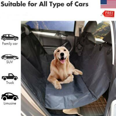 Pet Hammock Car Seat Cover SUV Rear Bench Protection Waterproof for Dog Cat+Bag