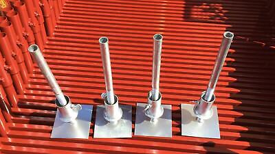 Tower adjustable Leg to fit scaffold tower with Base plate attached
